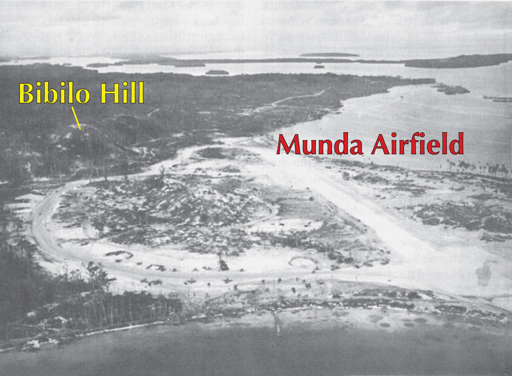Nunda Airfield, New Georgia Island