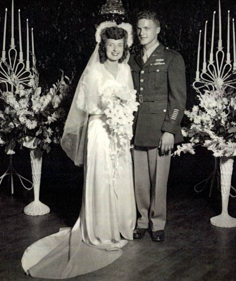Dan and Dorothy Noorlander - Wedding Reception